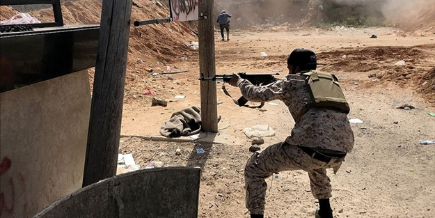 Terörist Hafter'e ağır darbe! Stratejik bölge abluka altına alındı