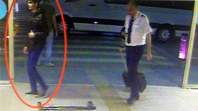 Terörist havalimanına böyle gelmiş