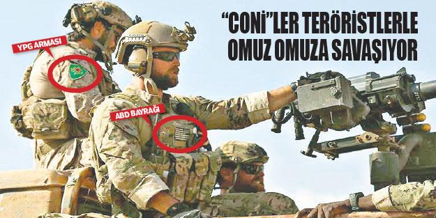 Terörist YPG'ye omuz veren ABD'ye Türkiye'den sert tepki: ABD'ye artık DAEŞ  arması da yakışır