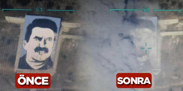 Teröristbaşı böyle imha edildi!