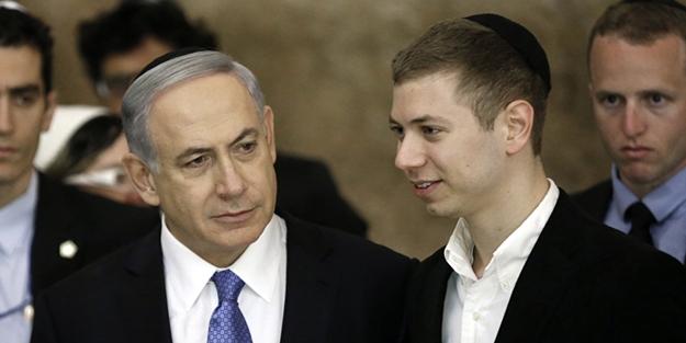 Teröristbaşı Netanyahu'nun oğlundan Türkiye ve Türk bayrağına alçak küfür!