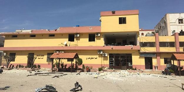 Teröristler hastaneye bile bomba döşemiş