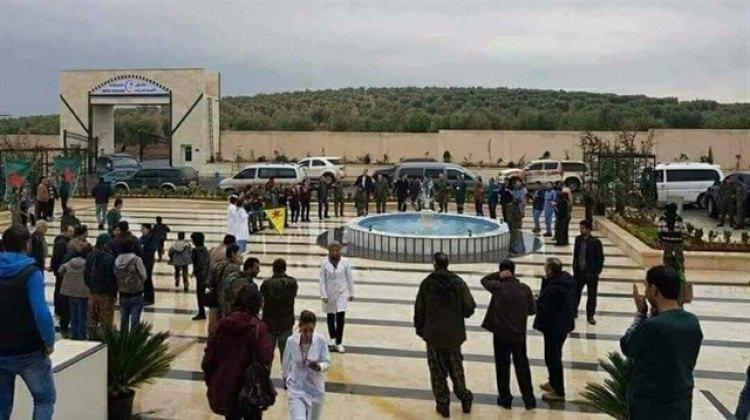 Teröristler PKK hastanesi açtı
