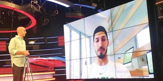 Teröristlere konuşan FETÖ'cü Enes Kanter, salyalarını Türkiye'ye akıttı!
