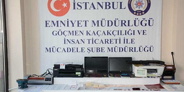 Teröristlere pasaport temin eden zanlı yakalandı