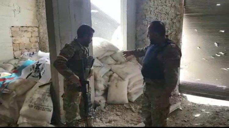 Teröristlerin bomba imalathanesi bulundu