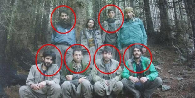 Teröristlerin üzerinden bu fotoğraf çıktı