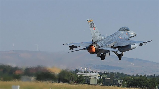 Terörö örgütü PKK'nın yeni yalanı: Türk F-16'sı düşürdük
