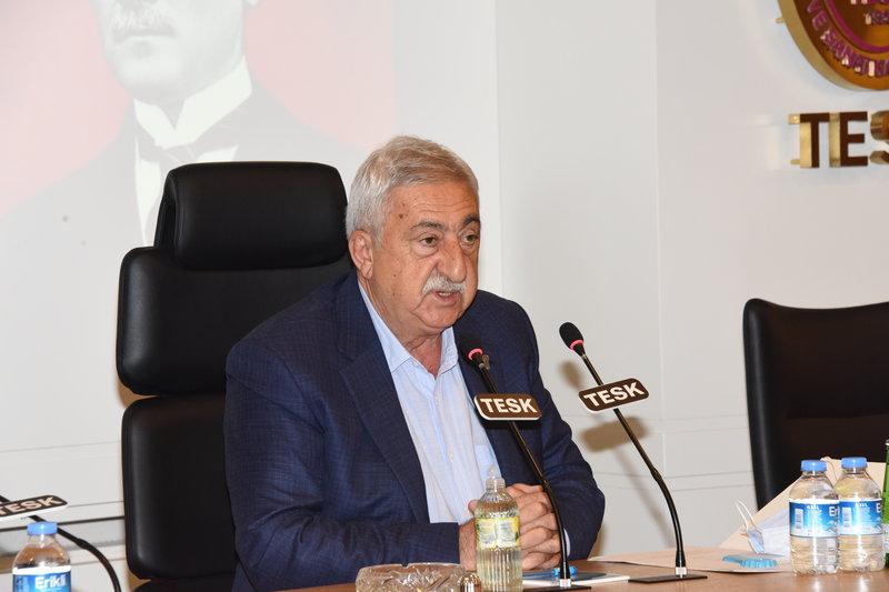 """TESK Başkanı Palandöken, """"Pandemide çocuk işçiliği ile mücadele hız kesmemeli"""""""