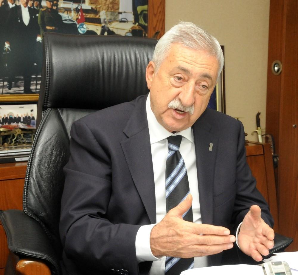 """TESK Genel Başkanı Palandöken: """"Gençlerin geleceği için 20 Haziran'da sessizlik"""""""