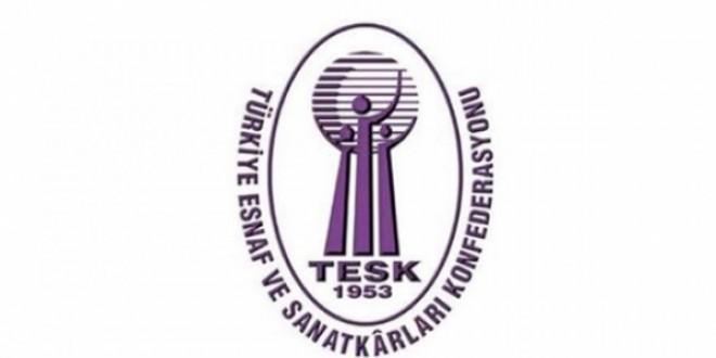 """TESK'ten """"esnafa nakit destek"""" talebi"""