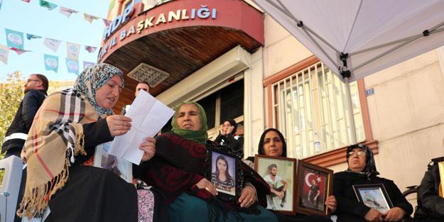 Teslim olan teröristten Diyarbakır annelerine sürpriz mektup