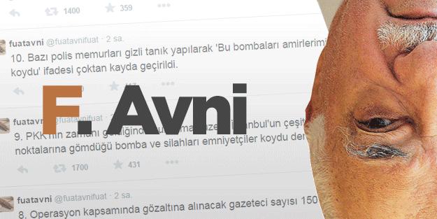 Tespit edildi: İşte Fuat Avni ile PKK'nın ortak yönü