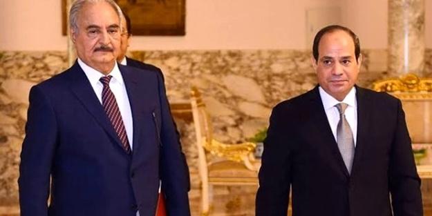 Tezkere kararı sonrası Hafter tutuştu! Sisi'den yardım istedi