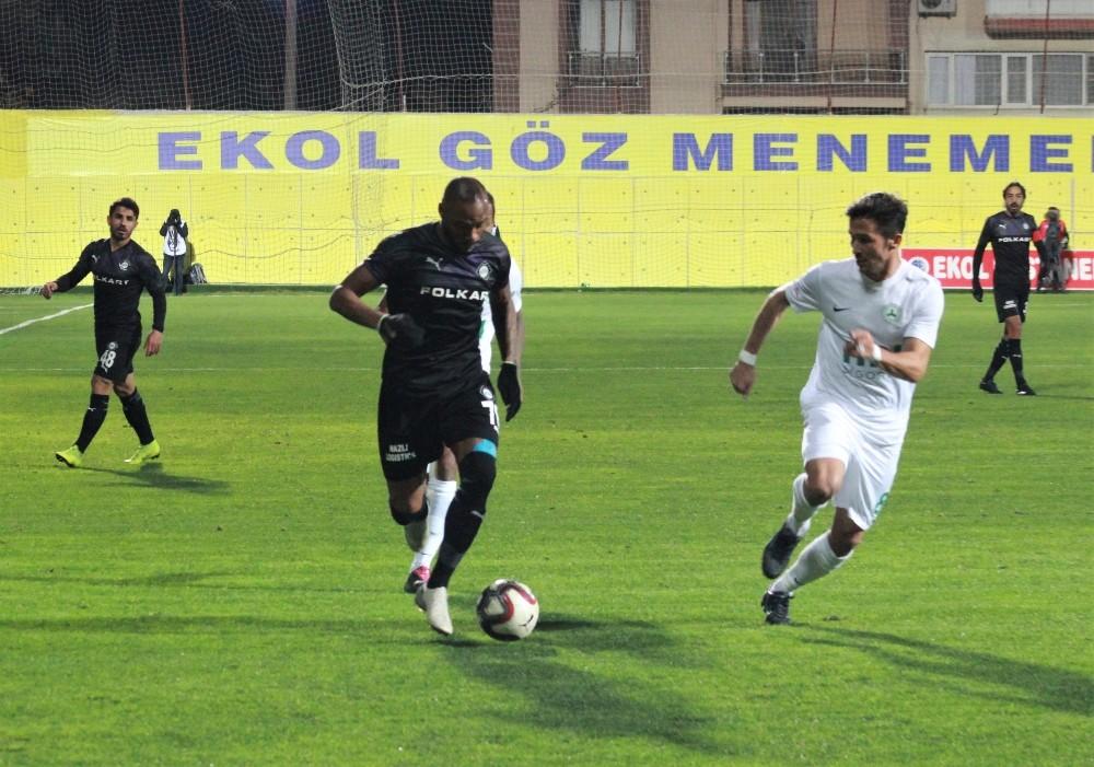 TFF 1. Lig: Altay: 0 - Giresunspor: 0