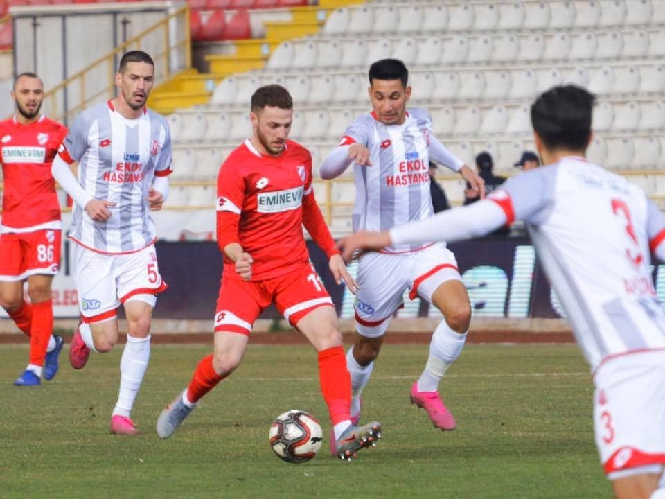 TFF 1. Lig: Boluspor: 1 - Balıkesirspor 1