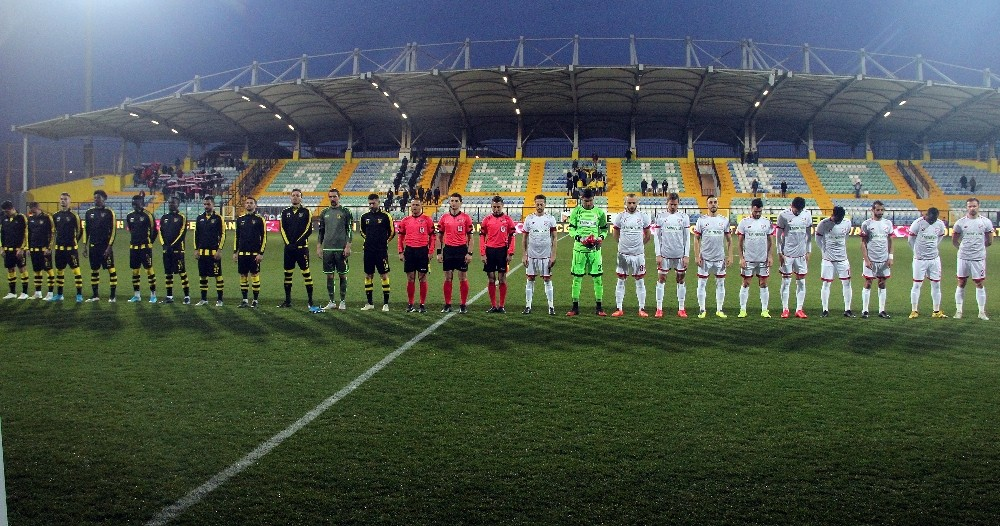 TFF 1. Lig: İstanbulspor: 0 - Boluspor: 0