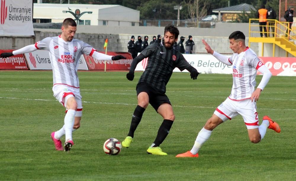TFF 1. Lig: Ümraniyespor: 0 - Balıkesirspor: 3