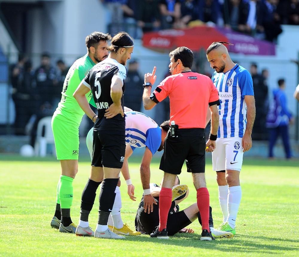 TFF 2. Lig Play-Off Çeyrek Final: Sarıyer: 1 - Kastamonuspor 1966: 0