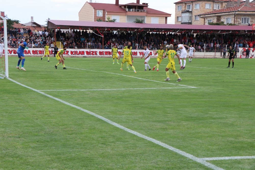 TFF 3. Lig: Nevşehir Belediyespor: 1 - Osmaniyespor FK: 2