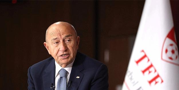 TFF Başkanı Nihat Özdemir: Maçların seyircili oynanmasını istiyoruz