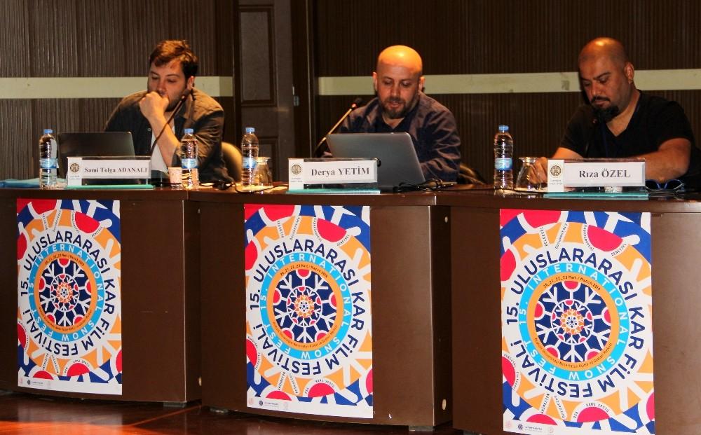 TFMD Yönetim Kurulu üyeleri, Atatürk Üniversitesi İletişim Fakültesi öğrencileriyle bir araya geldi