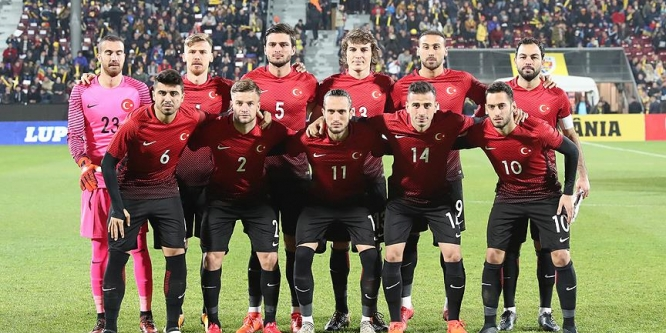 A Milli Futbol Takımı Arnavutluk'u konuk ediyor