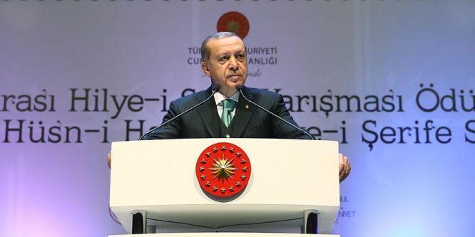 Cumhurbaşkanı Erdoğan: Müslümanlar İslam'la bağını güçlendirmeli