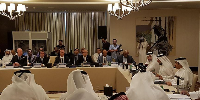 Katar ile BM insani yardım kurumları ortaklık anlaşması imzaladı
