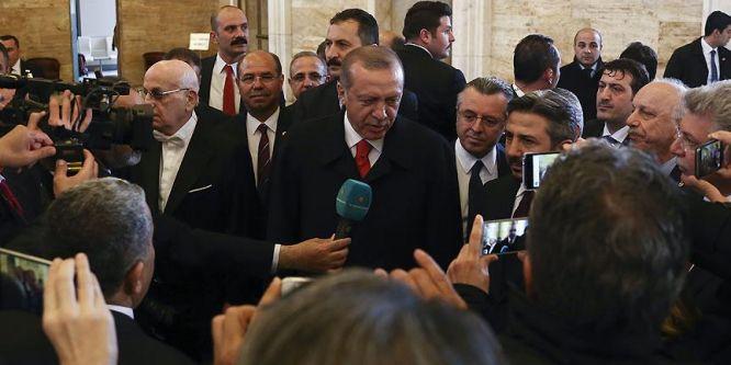 Erdoğan: Geleceği inşa etmek en önemli adımımız olacak