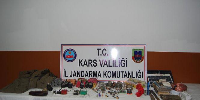 Hakkari ve Kars'ta 6 el yapımı patlayıcı ele geçirildi