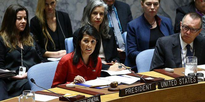 ABD'den BMGK'ya 'Suriye ve Kuzey Kore' çağrısı
