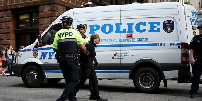 New York'taki 1 Mayıs gösterilerinde 14 gözaltı