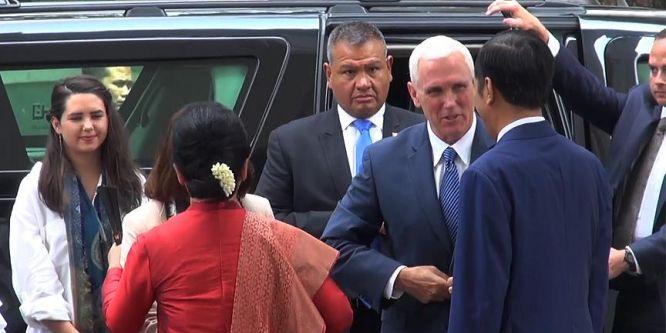 ABD Başkan Yardımcısı Pence Endonezya'da