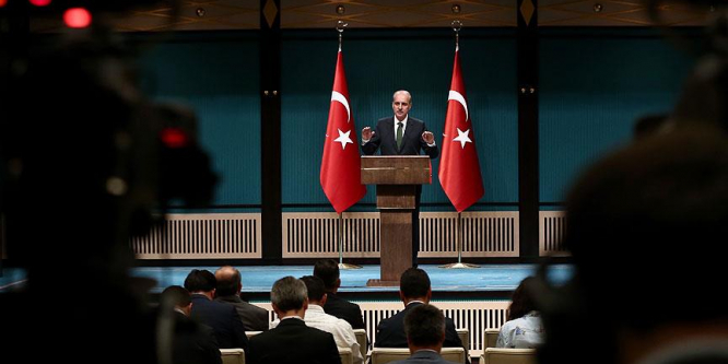 Başbakan Yardımcısı Kurtulmuş: 15 Temmuz etkinliklerine 6 milyonu aşkın vatandaşımız katıldı