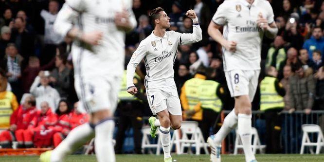 Real Madrid şampiyonluk yarışında hata yapmadı