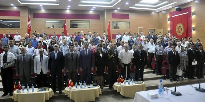 15 Temmuz şehitleri Kolombiya ve Kırgızistan'da anıldı