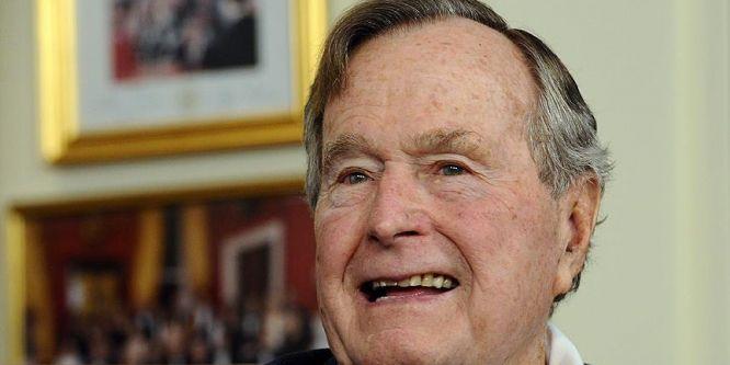 Bush yeniden hastaneye kaldırıldı