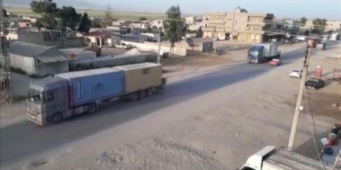 ABD'den terör örgütü PYD/PKK'ya askeri sevkiyat