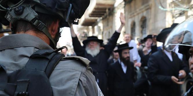Haredi Yahudileri İsrail polisiyle çatıştı