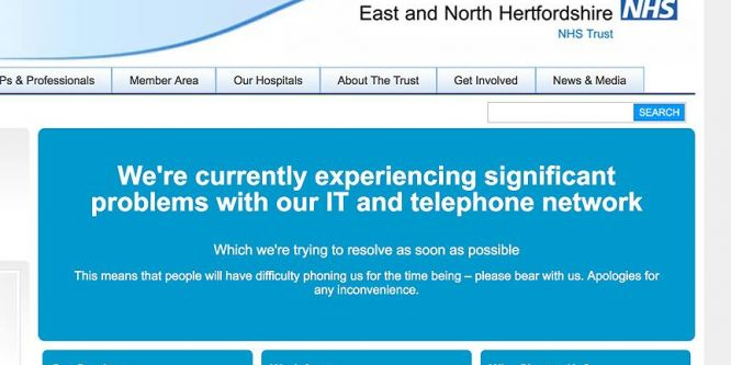 İngiliz sağlık sistemi veri tabanına siber saldırı