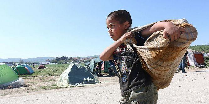 AB'ye 63 bin çocuk sığınmacı başvurdu