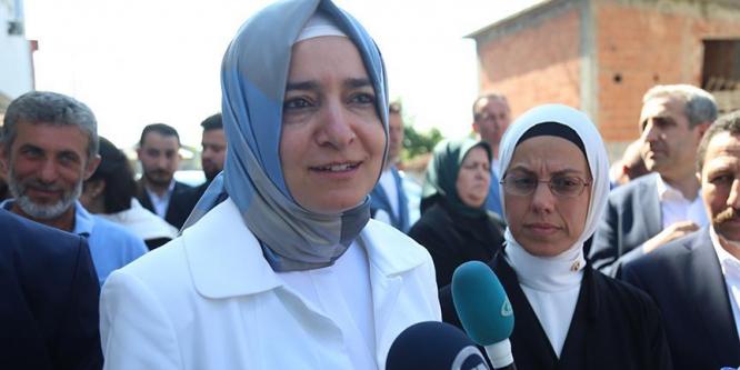 Aile ve Sosyal Politikalar Bakanı Kaya: Suriyeliler kirli provokasyonlara tabi tutulmaya çalışılıyor