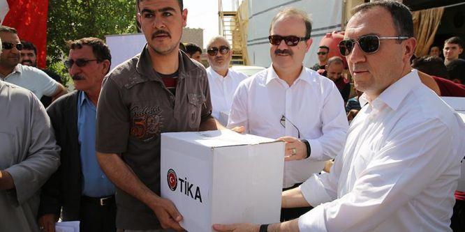 TİKA'dan Iraklı Türkmenlere insani yardım