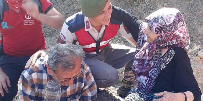 Kayıp alzaymır hastası kadın dronelu operasyonla bulundu