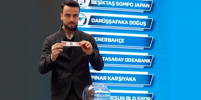 Basketbolda Türkiye Kupası eşleşmeleri belirlendi