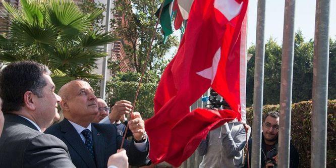 ISESCO'da Türk bayrağı göndere çekildi