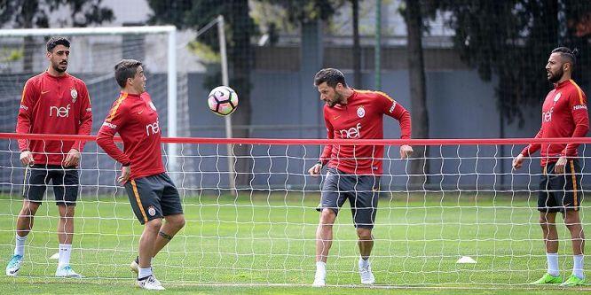 Galatasaray'da gözler derbi maçında
