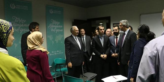 Trablus Yunus Emre Enstitüsü açıldı