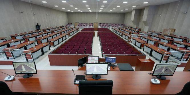 Duruşma salonu hazırlandı